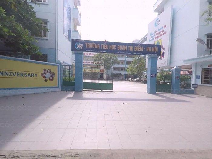 Trường tiểu học Đoàn Thị Điểm - Từ Liêm 788 HS