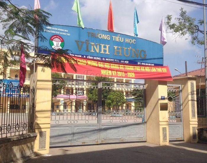 Trường Tiểu học Vĩnh Hưng - Hoàng Mai – 673 HS