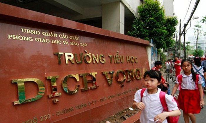 Trường Tiểu học Dịch Vọng A - Cầu Giấy - 672 HS