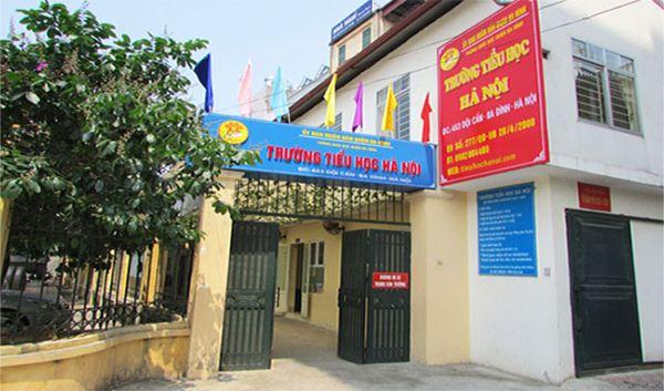 Trường tiểu học dân lập Hà Nội