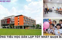 3 trường tiểu học dân lập tốt tại quận Ba Đình 3