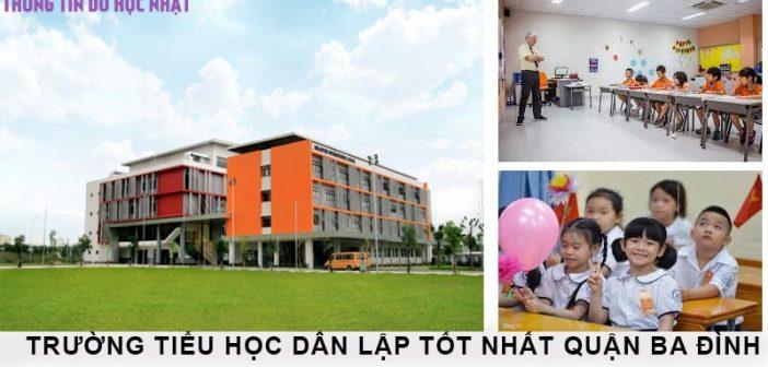 3 trường tiểu học dân lập tốt tại quận Ba Đình 1