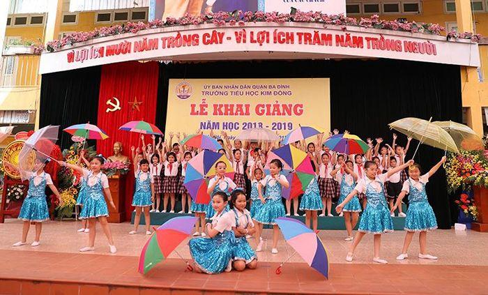 Trường TH Kim Đồng - Ba Đình - Hà Nội