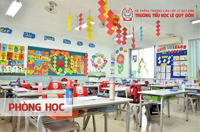 Trường tiểu học Lê Quý Đôn - Hà Nội - Trường tiểu học tốt nhất tại Hà Nội