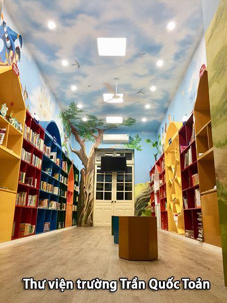 Thư viện trường tiểu học Trần Quốc Toản - Trường tiểu học tốt nhất tại Hà Nội
