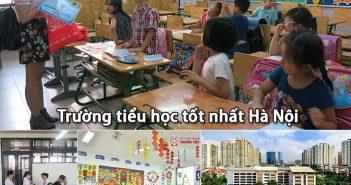 Top 5 trường tiểu học ở Hà Nội tốt nhất hiện nay