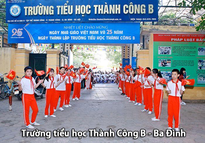 Trường tiểu học Thành Công B