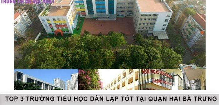 Top 3 trường tiểu học dân lập tốt tại quận Hai Bà Trưng – Hà Nội 1