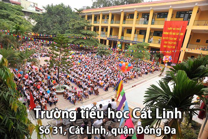 Trường tiểu học Cát Linh, Đống Đa, Hà Nội