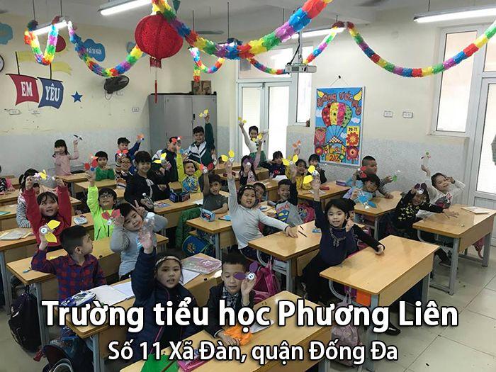 Trường tiểu học Phương Liên, Đống Đa, Hà Nội
