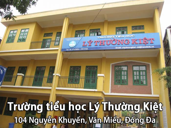 Trường tiểu học Lý Thường Kiệt, Đống Đa, Hà Nội