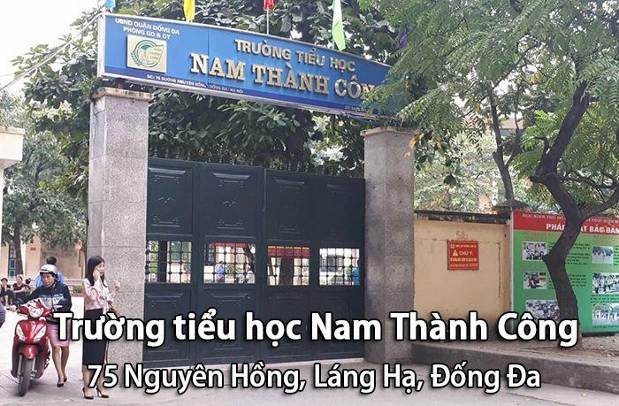 Trường tiểu học Nam Thành Công, Đống Đa, Hà Nội