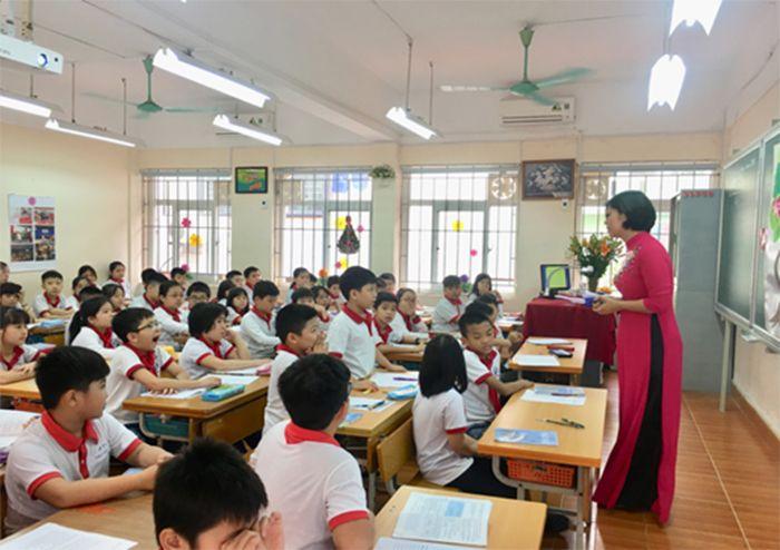 trường tiểu học tốt nhất Quận Thanh Xuân - Trường tiểu học Nguyễn Trãi - Thanh Xuân