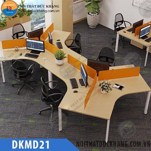 Cụm bàn làm việc 6 người ngồi DKMD21
