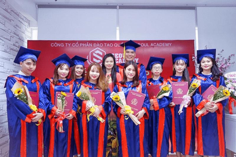 Cam kết khi theo học tại Seoul Academy có việc làm 100% tại các hệ thống spa hàng đầu Việt Nam