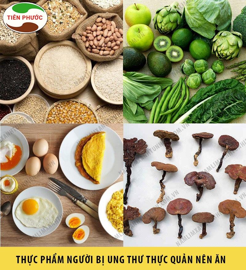 Những thực phẩm mà người bị ung thư thực quản nên ăn