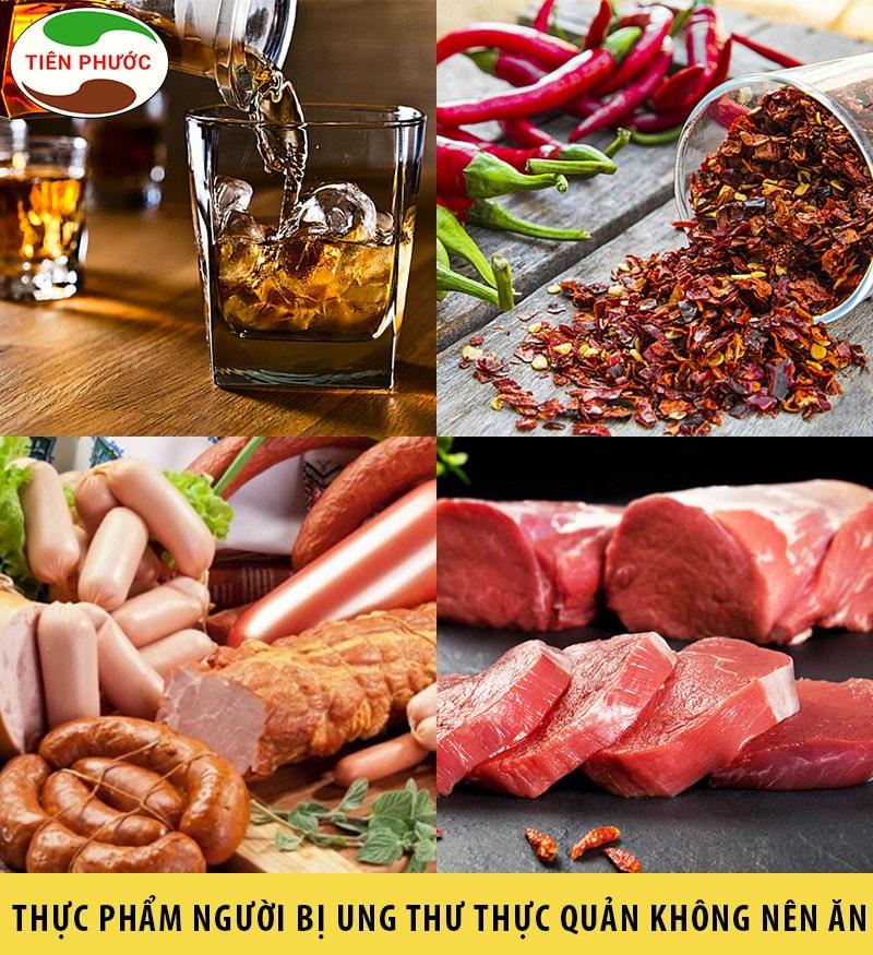 Những thực phẩm mà người bị ung thư thực quản nên ănNhững thực phẩm mà người bị ung thư thực quản nên ăn