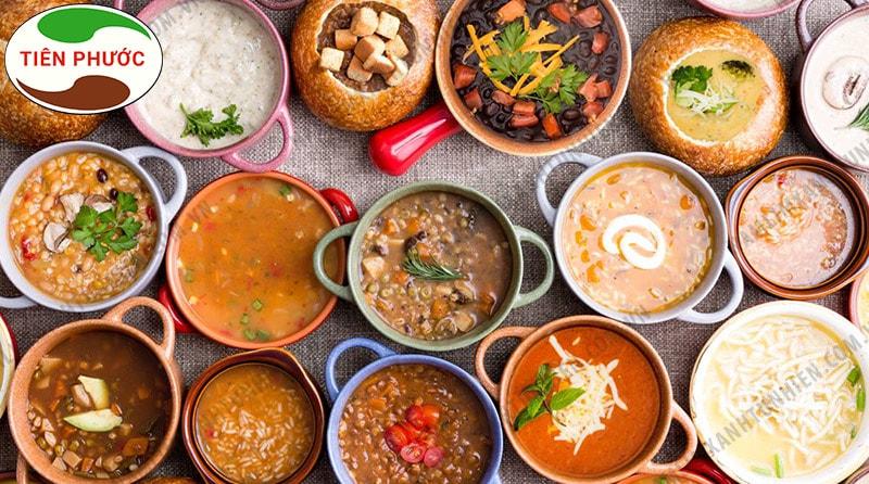 Người bị ung thư vòm họng nên ăn những thức ăn dinh dưỡng, nấu lỏng